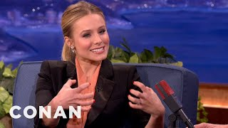 Kristen Bell Defines Two Kinds Of Man Butts - CONAN on TBS thumbnail
