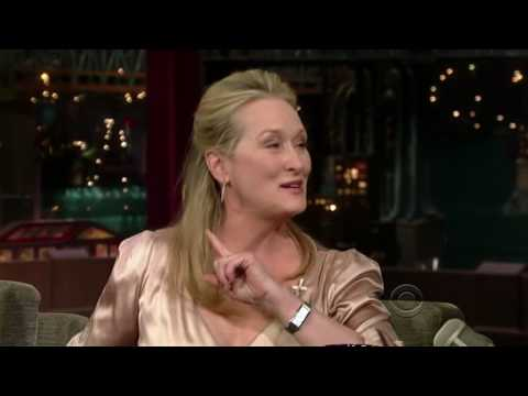 [HD] Meryl Streep on Letterman (7/15/2008) - Part 1