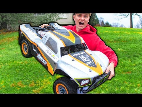WORLDS BIGGEST RC CAR!! (REALLY BIG)