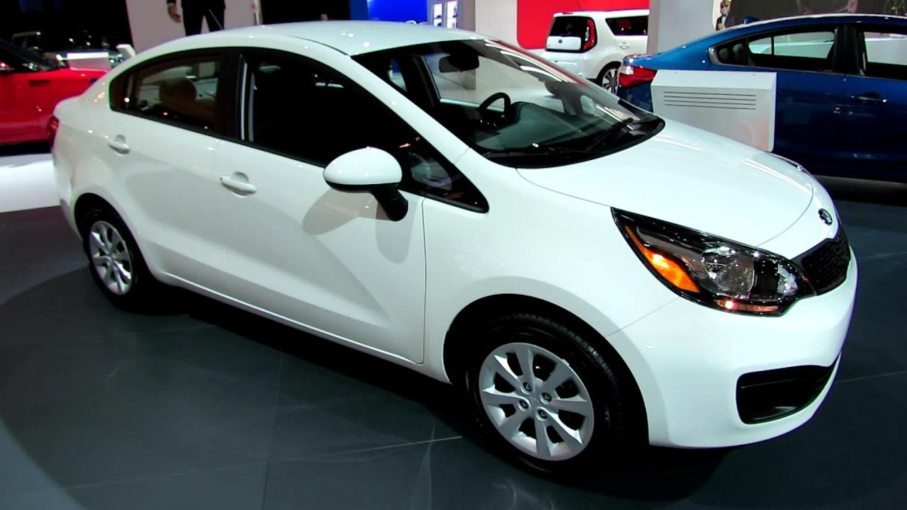 2014 KIA Rio LX GDI - Exterior and Interior Walkaround - 2013 LA ...