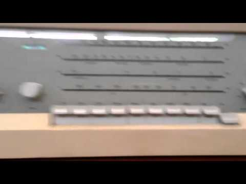 Vintage 1962 Braun Atelier 3 Tube Radio Record Player