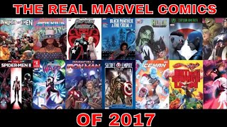 THE WORST OF THE WORST OF MARVEL COMIC BOOKS IN 2017
