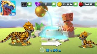 Фонтан молодости Легенды Дракономании l Dragon Mania Legends 56