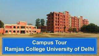 Ramjas College, University of Delhi | Campus Tour
