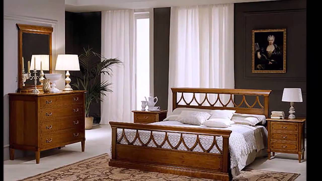 Chamber coucher meuble youtube for Modele de decoration maison