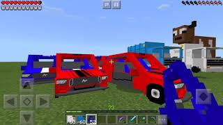 Sport Cars, Airplanes, Tanks and MORE in Minecraft PE