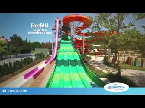 Aquamania waterpark  - Albena Resort in Bulgaria