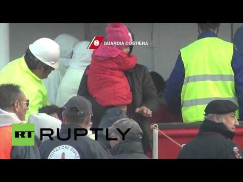 Italy: 187 migrants rescued off Libyan coast