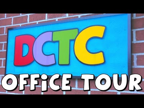 Amy Jo and Zumi tour the DCTC Toy Channel office and studio