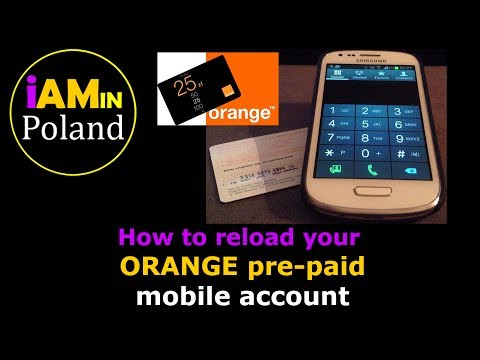 IAMIN Poland - Reload your Mobile with an Orange pre-paid card
