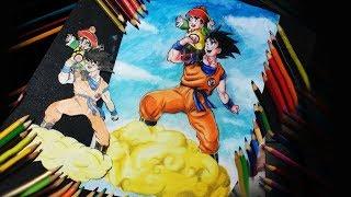 Redesenhando Goku e Gohan 1999-2017