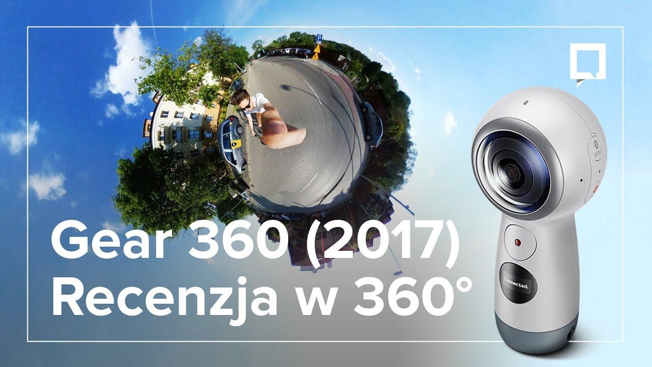 Fabriksnye Samsung Gear 360 2017 - recenzja w 360 stopniach! - YouTube YK-95