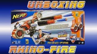 Nerf Rhino-Fire Unboxing [deutsch/german]