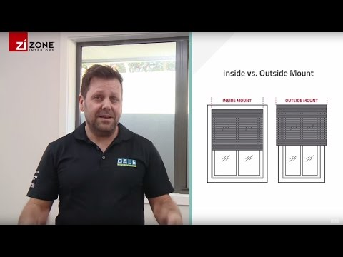 Choosing Installation Inside Or Outside Mount | Zone Interiors