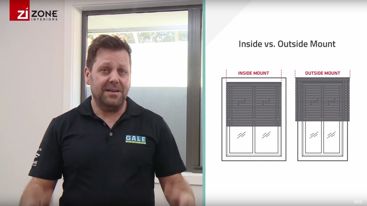 Choosing Installation Inside Or Outside Mount Zone Interiors Youtube