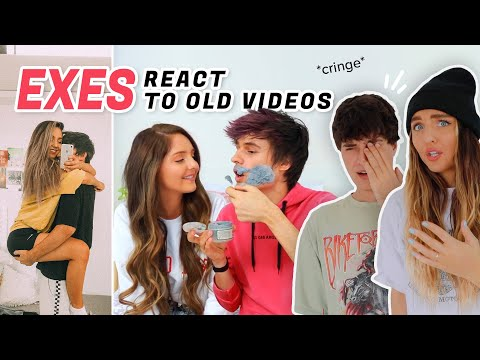 EXES REACT TO THEIR CRINGE COUPLE VIDEOS