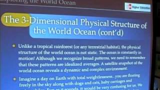Ocean & Atmosphere - Physical Structure