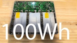 100Wh Lithium Battery Pack