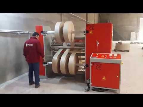 T-503 Full Otomatik Kağıt Bobin Dilimleme Makinesi