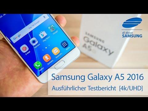 Samsung Galaxy A5 2016 Test Testbericht deutsch 4k UHD