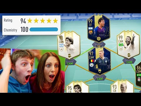 W2S vs MUM 194 FUT DRAFT WORLD RECORD CHALLENGE - FIFA 19