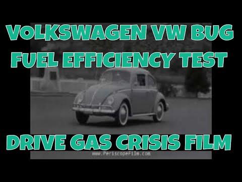 VOLKSWAGEN VW BUG FUEL EFFICIENCY TEST DRIVE GAS CRISIS FILM 33504