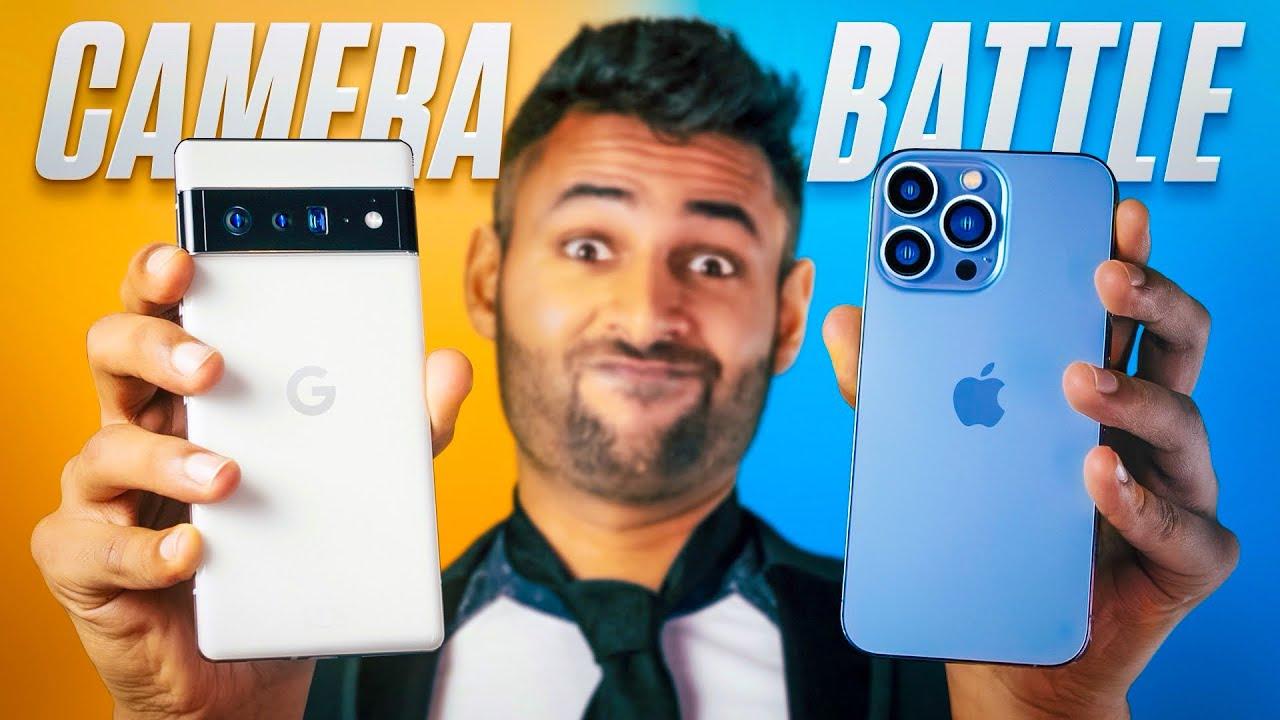 Download Google Pixel 6 Pro vs iPhone 13 Pro CAMERA Test.