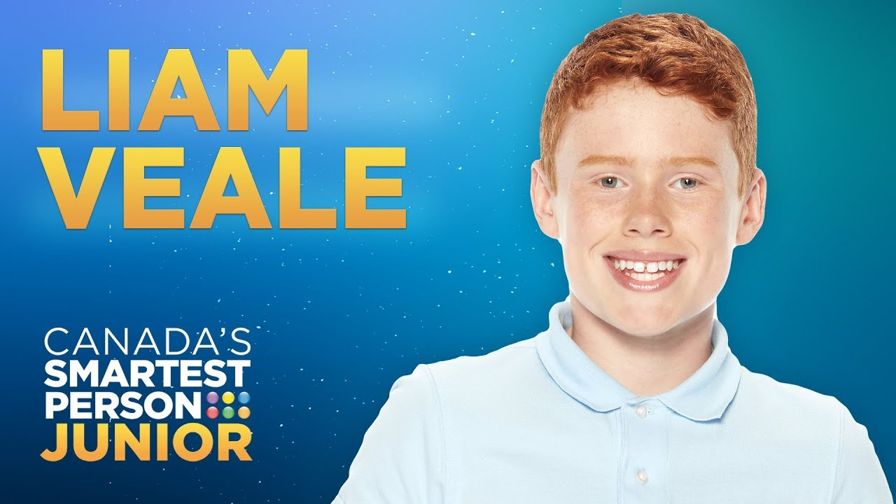 Liam Veale, a proficient athlete and mathlete | Canada's Smartest Person Junior