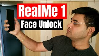 Oppo RealMe 1 Face Unlock Review, Features, Setup, Test, Pros/Cons with Redmi Note 5 Pro | Hindi