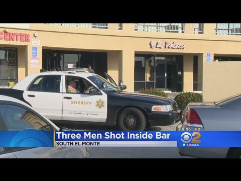 3 Men Shot Inside El Monte Karaoke Bar