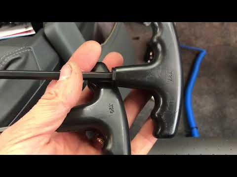 Porsche Cayman Boxster Radio security screw removal