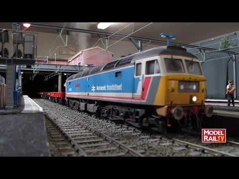 Model Rail magazine layout - Calvercar Town