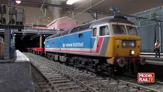 Model Rail magazine layout - Calvercar Town