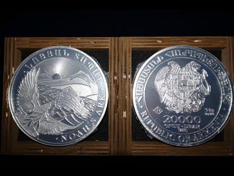 5 Kilo 2015 Armenia Noah's Ark Silver Coin