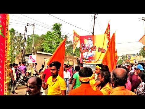 Ram-Navami Procession 2018 at Chandannagar West Bengal