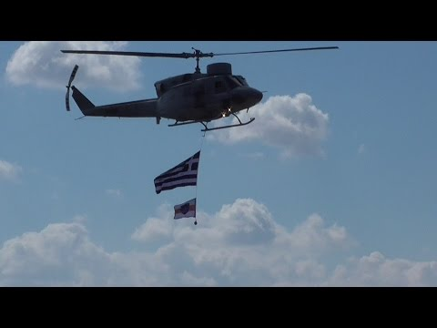 Athens Flying Week Hellenic Navy Agusta AB-212 Tatoi Airshow