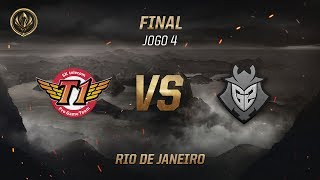 SKT x G2 (Final - Jogo 4) - MSI 2017