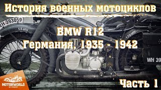1939, BMW R12. Review & test-drive, part 1. «Motorworld by V. Sheyanov» classic bike museum.
