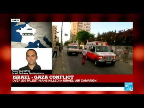 Israeli airstrikes kill over 260 Palestinians