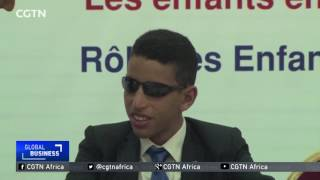 Blind vlogger uses technology to make his mark in Morocco