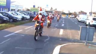 "Balade Moto Père Noël ""Pau""  2016"