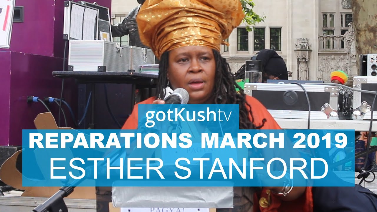 Esther Stanford-Xosei Speaks at Reparations March 2019 UK