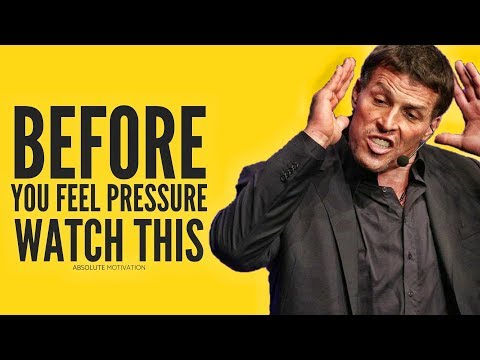 If You're Feeling PRESSURE From Life - WATCH THIS | Tony Robbins Will Open Your Eyes