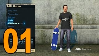 Skate 3 - Part 1 - Here We Go! (Let