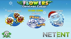 Flowers Christmas Online Slot from Net Entertainment