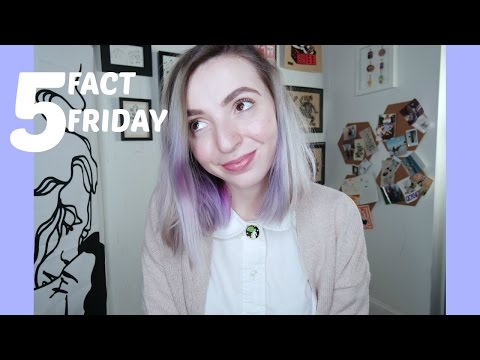 5 fact Friday! Girl Hate, non vegan gifts, tattoo touching, religion.