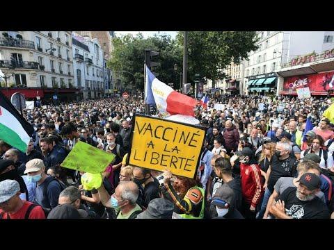 En más de 150 ciudades de Francia se llevaron a cabo manifestaciones por tercer sábado consecutivo