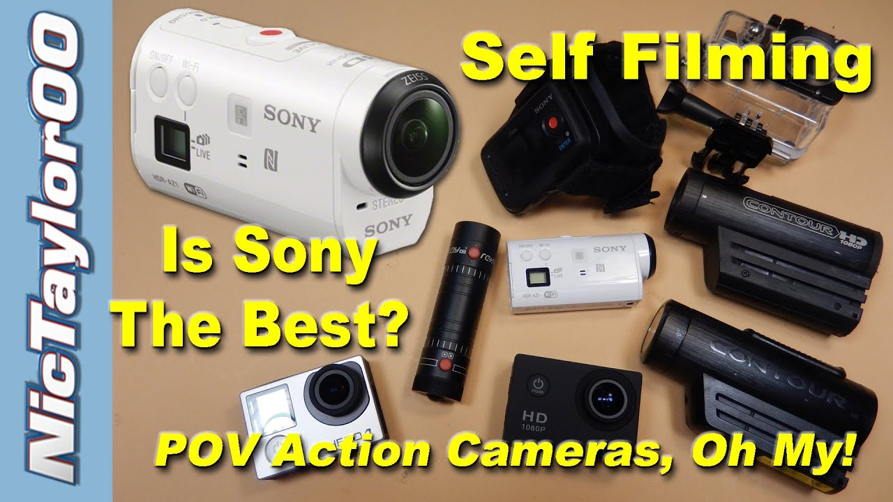 Sony Action Camera - The Best POV Camera EVER? - YouTube