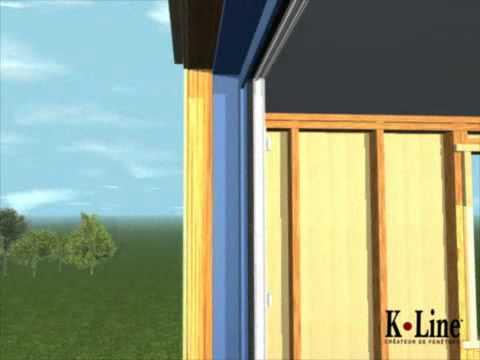K Line Fenêtre Pour Ossature Bois Youtube
