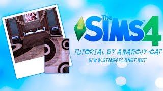 the Sims 4: Создаем коврики для игры (легкий урок)